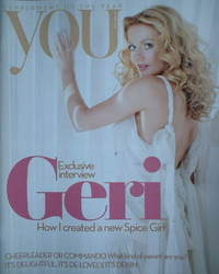 <!--2008-04-20-->You magazine - Geri Halliwell cover (20 April 2008)