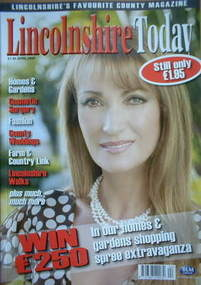 Lincolnshire Today magazine - Jane Seymour cover (April 2008)