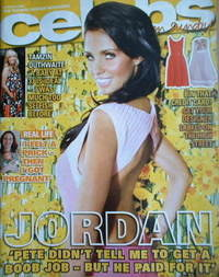<!--2008-03-23-->Celebs magazine - Katie Price cover (23 March 2008)