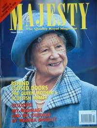 <!--1993-10-->Majesty magazine The Queen Mother cover (October 1993 - Volum