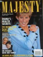 <!--1993-03-->Majesty magazine - Princess Diana cover (March 1993 - Volume 14 No 3)