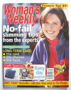 <!--1999-03-02-->Woman's Weekly magazine (2 March 1999)