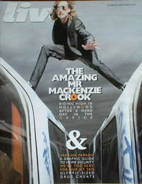 <!--2008-04-06-->Live magazine - Mackenzie Crook cover (6 April 2008)