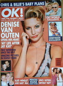 <!--2001-06-29-->OK! magazine - Denise Van Outen cover (29 June 2001 - Issu