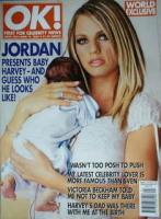<!--2002-06-19-->OK! magazine - Jordan Katie Price cover (19 June 2002 - Issue 320)