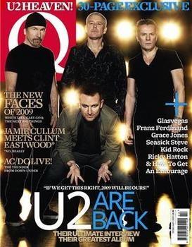 Q magazine - U2 cover (February 2009)
