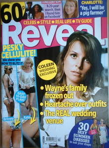 <!--2008-05-31-->Reveal magazine - Coleen McLoughlin cover (31 May - 6 June