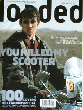<!--2000-01-->Loaded magazine - Phil Daniels cover (January 2000)