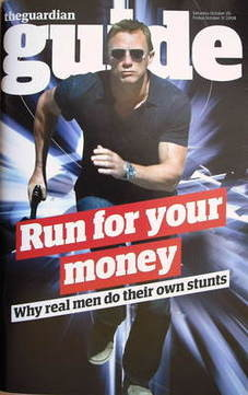 The Guardian Guide magazine - Daniel Craig cover (25 October 2008)
