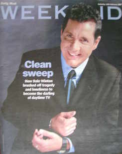 Weekend magazine - Dale Winton cover (10 February 2007)