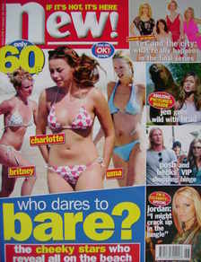 New magazine - 26 January 2004 - Who Dares To Bare cover