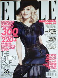 US Elle magazine - May 2008 - Madonna cover