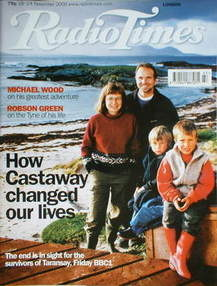 <!--2000-11-18-->Radio Times magazine - How Castaway Changed Our Lives cove