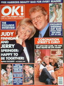 <!--1999-03-12-->OK! magazine - Judy Finnigan and Jerry Springer cover (12
