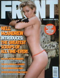 <!--2002-02-->Front magazine - Nell McAndrew cover (February 2002)