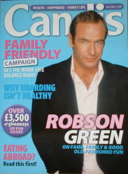Candis magazine - July 2007 - Robson Green cover
