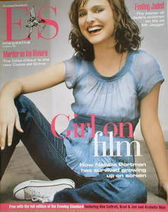 <!--2005-01-21-->Evening Standard magazine - Natalie Portman cover (21 January 2005)