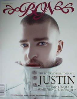 BON magazine - Justin Timberlake cover (Autumn 2006)