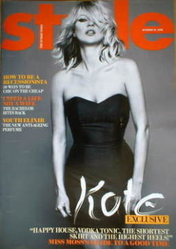 Style magazine - Kate Moss cover (19 October 2008)