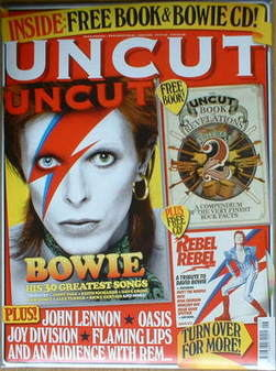 <!--2008-06-->Uncut magazine - David Bowie cover (June 2008)