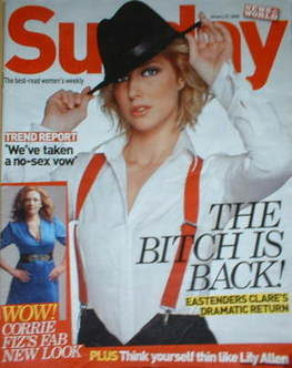 <!--2008-01-27-->Sunday magazine - 27 January 2008 - Gemma Bissix cover