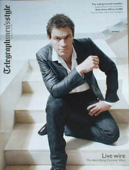 Telegraph Style magazine - Dominic West cover (Spring/Summer 2008)