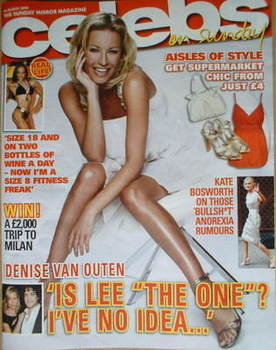 <!--2008-03-30-->Celebs magazine - Denise Van Outen cover (30 March 2008)