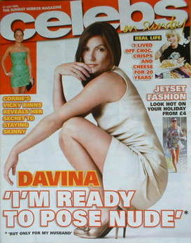 <!--2008-07-27-->Celebs magazine - Davina McCall cover (27 July 2008)