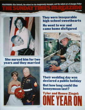 <!--2008-05-11-->The Sunday Times magazine - Tyler Ziegel and Renee Ziegel