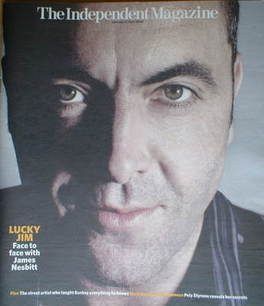 The Independent magazine - James Nesbitt cover (19 April 2008)