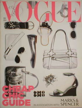 British Vogue supplement - Cheap Chic Guide (May 2004)