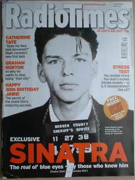 <!--2005-07-30-->Radio Times magazine - Frank Sinatra cover (30 July-5 Augu