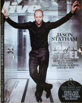 Live magazine - Jason Statham cover (3 February 2008)