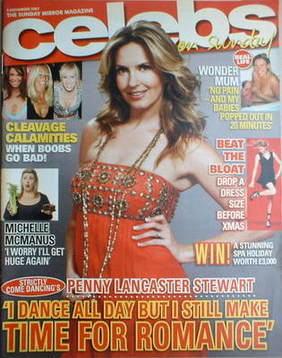 <!--2007-11-04-->Celebs magazine - Penny Lancaster Stewart cover (4 Novembe