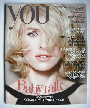 <!--2007-04-08-->You magazine - Naomi Watts cover (8 April 2007)
