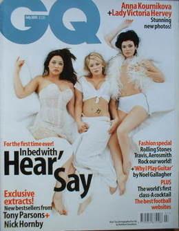 <!--2001-07-->British GQ magazine - July 2001 - Kym Marsh, Suzanne Shaw, My