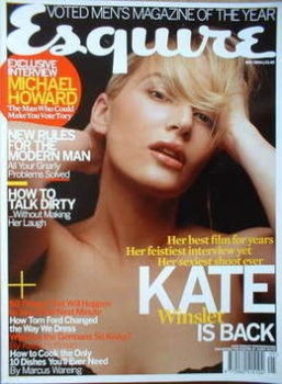 Esquire magazine - Kate Winslet cover (May 2004)