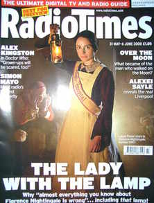<!--2008-05-31-->Radio Times magazine - Laura Fraser cover (31 May-6 June 2