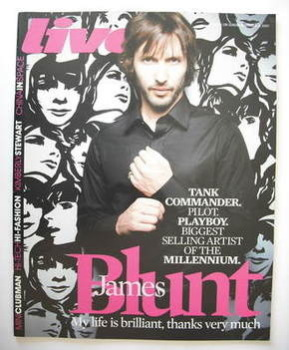 Live magazine - James Blunt cover (18 November 2007)