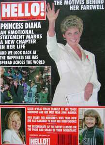 <!--1993-12-11-->Hello! magazine - Princess Diana cover (11 December 1993 -