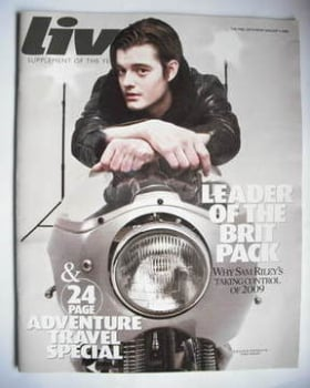Live magazine - Sam Riley cover (4 January 2009)