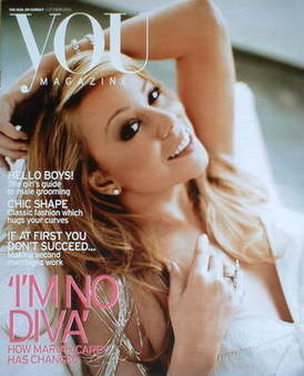 <!--2005-10-02-->You magazine - Mariah Carey cover (2 October 2005)