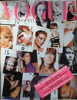 British Vogue supplement - The Model Handbook (2001 issue)