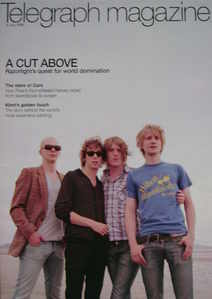 <!--2006-07-08-->Telegraph magazine - Razorlight cover (8 July 2006)
