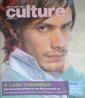 Culture magazine - Gael Garcia Bernal cover (31 December 2006)