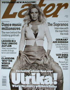 Later magazine - Ulrika Jonsson cover (July 2000 - Issue 14)