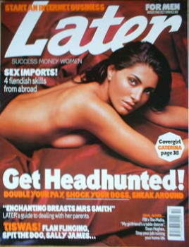 Later magazine - Caterina Murino cover (October 1999 - Issue 5)