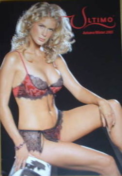 Ultimo brochure - Rachel Hunter cover (Autumn/Winter 2005)