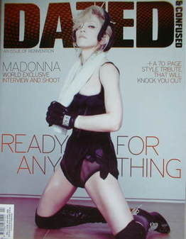 <!--2008-04-->Dazed & Confused magazine (April 2008 - Madonna cover)