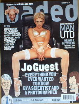 <!--1997-05-->Loaded magazine - Jo Guest cover (May 1997)